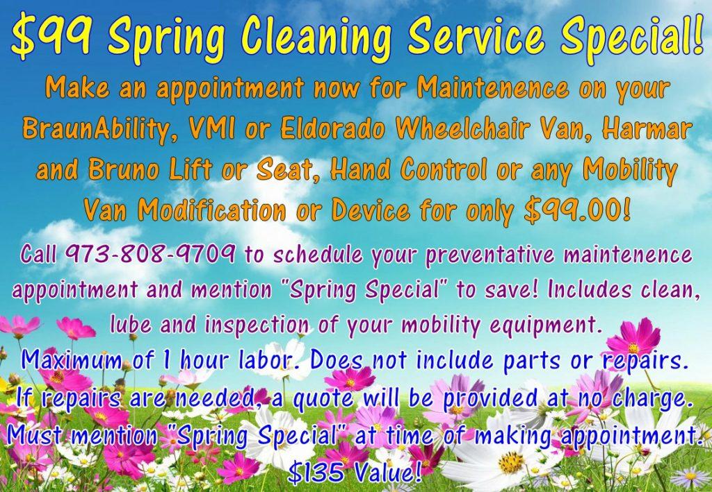 Service Special - BraunAbility - VMI - Eldorado - Wheelchair Vans