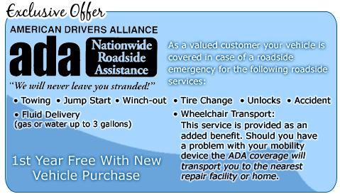 Wheelchair Van Roadside Assistance and Repair