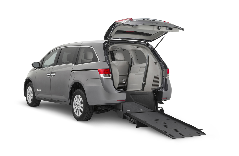 Honda Odyssey Rear Entry Wheelchair Van Drive Master