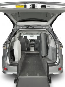 Toyota Rear Entry Hatch Rear View