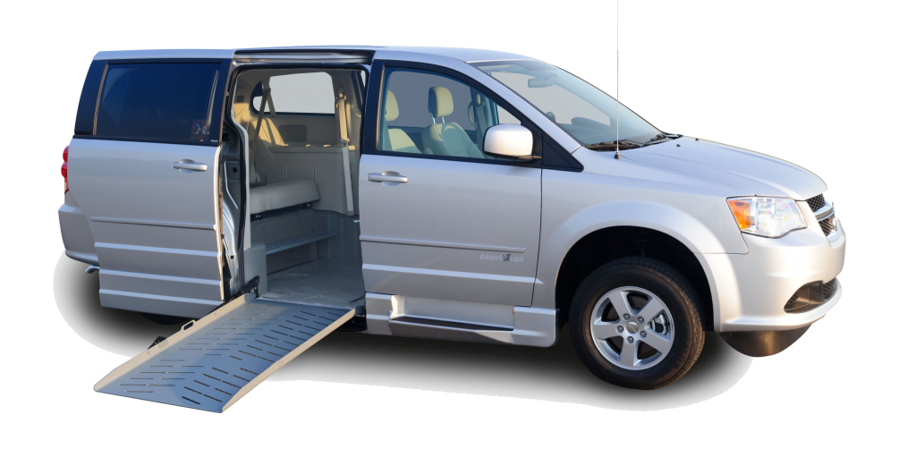 Eldorado Amerivan Dodge Chrysler Side Entry Wheelchair Van
