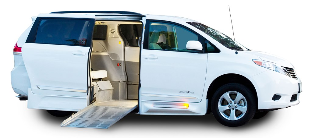 Eldorado Amerivan Toyota Sienna Power Fold Out Ramp