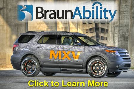 BraunAbility Wheelchair Van Dealer in NJ and NY - SUV - MXV - Handicap Vans