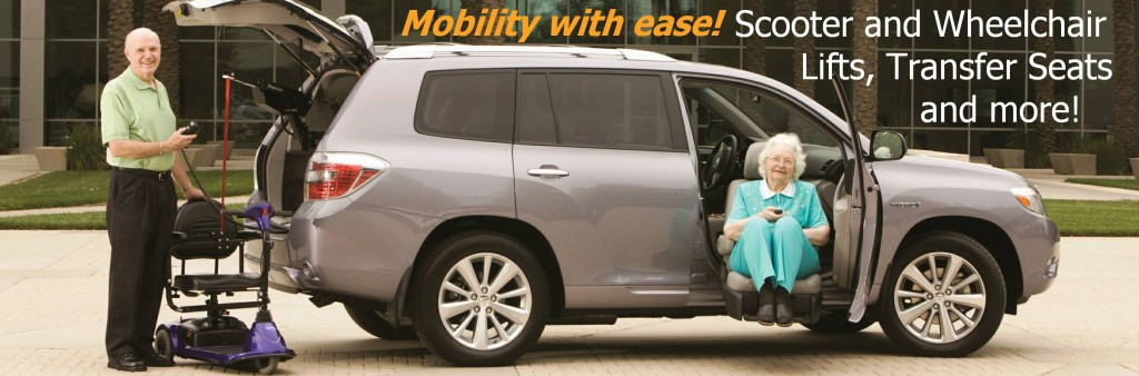 Wheelchair Scooter Lifts - Transfer Seats - Mobility Driving Controls in NJ